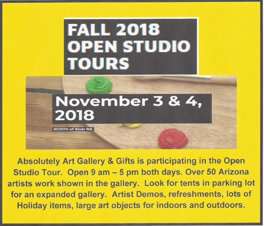 Open Studio Tour for Website